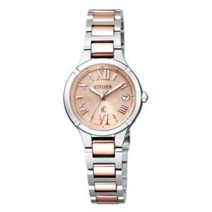 正規品 CITIZEN シチズン xC クロスシー TITANIA LINE MINISOL ティタニア ライン ミニソル ES8085-56W ピンクゴールド×シルバー レディース 腕時計|newest