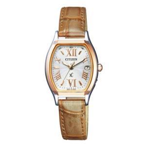 正規品 CITIZEN シチズン xC クロスシー TITANIA LINE ティタニア ライン ES8154-04A シルバー×ブラウン レディース 腕時計|newest