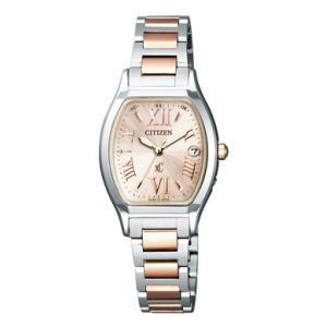 正規品 CITIZEN シチズン xC クロスシー TITANIA LINE ティタニア ライン ES8154-55W ピンクゴールド×シルバー レディース 腕時計|newest