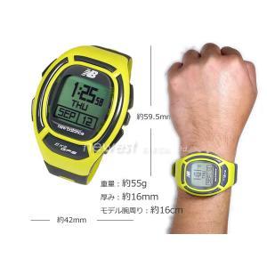 正規品 New Balance ニューバランス ランニングウォッチ GPS機能搭載 for windows EX2-906-002 イエロー×グレー メンズ 腕時計|newest|02
