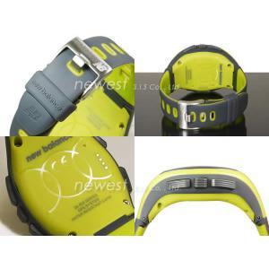正規品 New Balance ニューバランス ランニングウォッチ GPS機能搭載 for windows EX2-906-002 イエロー×グレー メンズ 腕時計|newest|03
