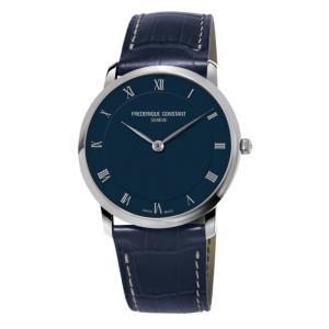 FREDERIQUE CONSTANT フレデリック・コンスタント SLIMLINE GENTS スリムライン ジェンツ ネイビー FC-200RN5S36 メンズ 腕時計 即納|newest
