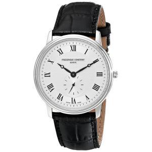 FREDERIQUE CONSTANT フレデリック・コンスタント SLIMLINE GENTS スリムライン ジェンツ シルバー×ブラック FC-235M4S6 メンズ 腕時計 即納|newest
