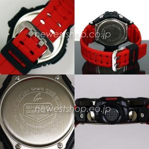 CASIO カシオ G-SHOCK G-ショック SKY COCKPIT スカイコックピット GA-1000-4B ブラック×レッド 海外モデル 腕時計 即納|newest|03