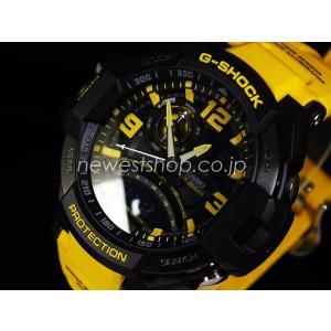 CASIO カシオ G-SHOCK G-ショック SKY COCKPIT スカイコックピット GA-1000-9B ブラック×イエロー 海外モデル 腕時計 即納