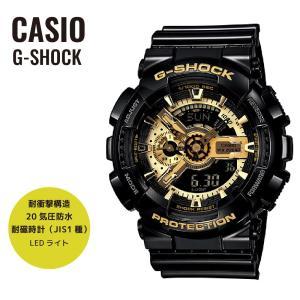 CASIO カシオ 腕時計 G-SHOCK Gショック Black×Gold Series ブラック×ゴールドシリーズ GA-110GB-1A ブラック×ゴールド 海外モデル 即納|newest