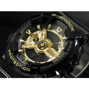 CASIO カシオ 腕時計 G-SHOCK Gショック Black×Gold Series ブラック×ゴールドシリーズ GA-110GB-1A ブラック×ゴールド 海外モデル 即納|newest|02