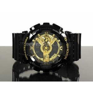 CASIO カシオ 腕時計 G-SHOCK Gショック Black×Gold Series ブラック×ゴールドシリーズ GA-110GB-1A ブラック×ゴールド 海外モデル 即納|newest|03