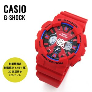 CASIO カシオ G-SHOCK ジーショック GA-120TR-4A レッド 海外モデル 腕時計|newest