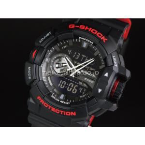 CASIO カシオ G-SHOCK ジーショック Black & Red Series ブラック&レッドシリーズ GA-400HR-1A ブラック 腕時計 海外モデル 即納|newest