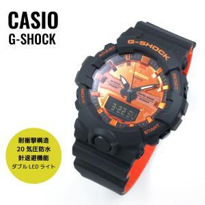 【ラッピング無料】CASIO カシオ G-SHOCK G-ショック GA-800BR-1A オレンジ...