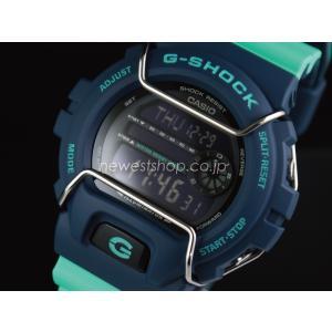 CASIO カシオ G-SHOCK G-ショック G-LIDE Gライド GLS-6900-2A ブルー×グリーン 腕時計 送料無料|newest