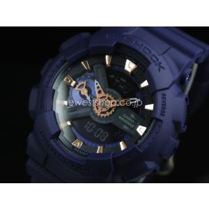 CASIO カシオ G-SHOCK Gショック S series エスシリーズ GMA-S110CM-2A ネイビー 腕時計 海外モデル|newest