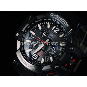 CASIO カシオ 腕時計 G-SHOCK Gショック SKY COCKPIT スカイコックピット GPSハイブリッド マルチバンド6 GPW-1000-1A 海外モデル 即納
