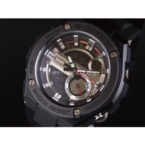 CASIO カシオ G-SHOCK G-ショック G-STEEL Gスチール GST-210B-1A ブラック 腕時計 海外モデル 即納|newest