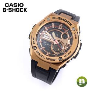 CASIO カシオ G-SHOCK G-ショック G-STEEL Gスチール GST-210B-4A ブラック×ブロンズ 腕時計 海外モデル メンズ 即納 newest