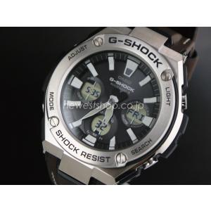 CASIO カシオ G-SHOCK G-ショック G-STEEL Gスチール GST-W130L-1A ブラック×ブラウン 腕時計 海外モデル メンズ 即納|newest