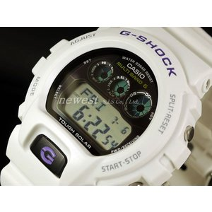 CASIO カシオ 腕時計 G-SHOCK ジーショック Gショック タフソーラー X 世界6局 電波時計 GW-6900A-7 ホワイト 海外モデル|newest