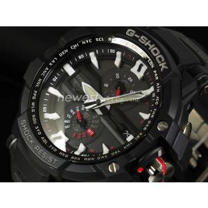 CASIO カシオ 腕時計 G-SHOCK Gショック SKY COCKPIT スカイコックピット マルチバンド6 GW-A1000-1A ブラック×ホワイト×レッド 海外モデル