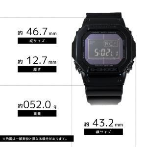 CASIO カシオ G-SHOCK G-ショック Grossy Black Series グロッシー・ブラックシリーズ GW-M5610BB-1 オールブラック 海外モデル 腕時計|newest|02
