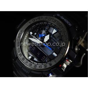 CASIO カシオ G-SHOCK Gショック GULFMASTER ガルフマスター GWN-1000C-1A ブラック×ブルー 海外モデル 腕時計|newest