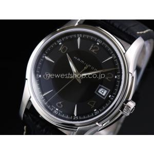 HAMILTON ハミルトン JAZZMASTER GENT ジャズマスター ジェント H32411735 ブラック メンズ 腕時計 即納