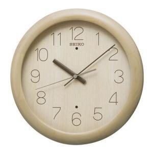 SEIKO セイコー 掛け時計 ナチュラル スタイル KX201A 電波掛時計