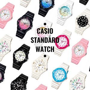メール便配送のみ送料無料! CASIO チープカシオ STANDARD スタンダード チプカシ LRW-200H ブラック×ホワイト×ピンク レディース 腕時計 即納