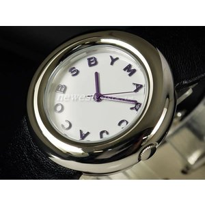 MARC BY MARC JACOBS マーク バイ マークジェイコブス 腕時計 Marci マーシ MBM1127 ホワイト×ブラック レディース|newest