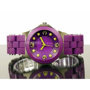 アウトレット!訳あり!MARC BY MARC JACOBS マーク バイ マークジェイコブス  PELLY ペリー パープル MBM2515 腕時計|newest|02