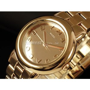 MARC BY MARC JACOBS マーク バイ マークジェイコブス 腕時計 Marci Mirrer マーシミラー  MBM3099 オールローズゴールド レディース|newest