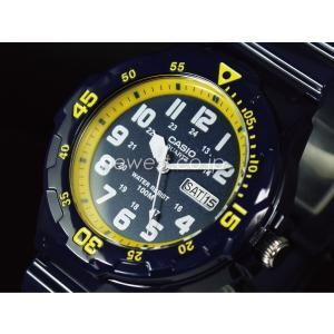 CASIO カシオ チプカシ STANDARD スタンダード MRW-200HC-2B イエロー メンズ 海外モデル 腕時計 メール便に限り送料無料 即納|newest|02