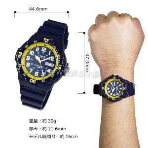 CASIO カシオ チプカシ STANDARD スタンダード MRW-200HC-2B イエロー メンズ 海外モデル 腕時計 メール便に限り送料無料 即納|newest|03