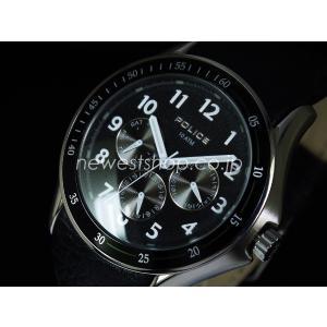 POLICE ポリス PL.11596JS/02 ブラック 腕時計|newest