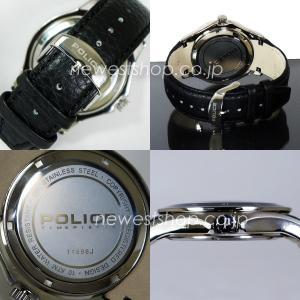 POLICE ポリス PL.11596JS/02 ブラック 腕時計|newest|03