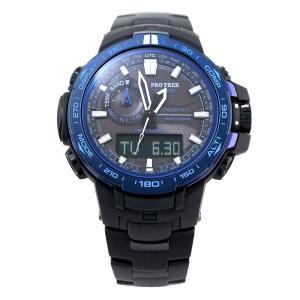 CASIO カシオ プロトレック/パスファインダー PRW-6000SYT-1 ブラック×ブルー 海外モデル 腕時計 即納|newest|02