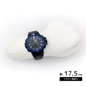 CASIO カシオ プロトレック/パスファインダー PRW-6000SYT-1 ブラック×ブルー 海外モデル 腕時計 即納|newest|03