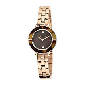 FURLA フルラ CLUB クラブ R4253109507 ブラウン×ピンクゴールド 腕時計 レディース|newest