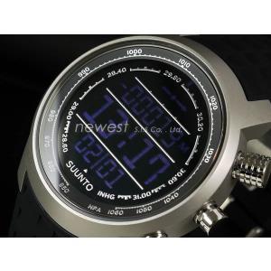 SUUNTO スント 腕時計 Elementum TERRA エレメンタム テラ SS014522000 ブラック×シルバー 海外モデル|newest