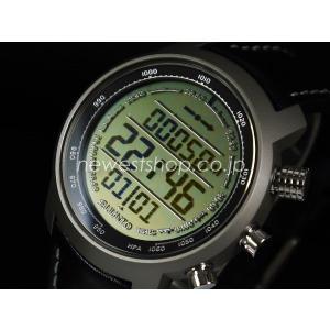 SUUNTO スント Elementum TERRA エレメンタム テラ BLACK LEATHER ブラックレザー SS014523000 ブラック 海外モデル 腕時計|newest