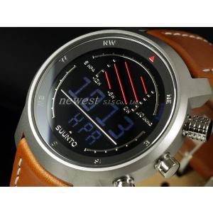 SUUNTO スント 腕時計 Elementum VENTUS エレメンタム ベンタス SS014526000 ブラック×テラブラウン 海外モデル|newest