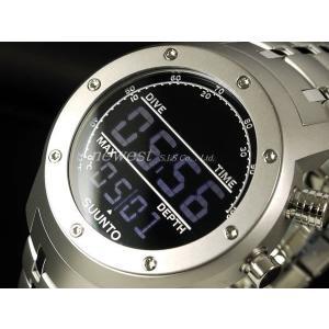 アウトレット!訳あり!SUUNTO スント 腕時計 Elementum AQUA エレメンタム アクア SS014527000 ブラック×ステンレス 海外モデル|newest
