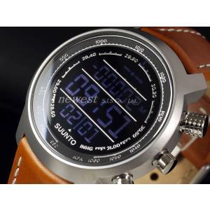 アウトレット!訳あり!SUUNTO スント 腕時計 Elementum TERRA エレメンタム テラ SS018733000 ブラック×ブラウン 海外モデル|newest