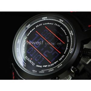 SUUNTO スント 腕時計 Elementum TERRA エレメンタム テラ SS019171000 ブラック×ブラック/レッドライン 海外モデル|newest
