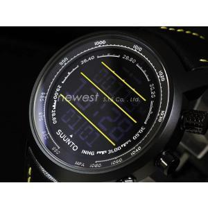 SUUNTO スント 腕時計 Elementum TERRA エレメンタム テラ SS019997000 ブラック×ブラック/イエローライン 海外モデル|newest