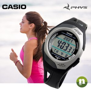 CASIO カシオ 腕時計 PHYS フィズ STR-300C-1 ランニングウォッチ 海外モデル レビューを書いて送料無料 即納