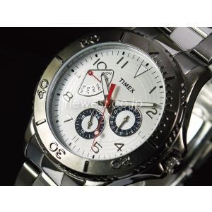 TIMEX タイメックス KALEIDOSKOPE カレイドスコープ T2P038 ホワイト×・シルバー  腕時計 レビューを書いて送料無料 即納