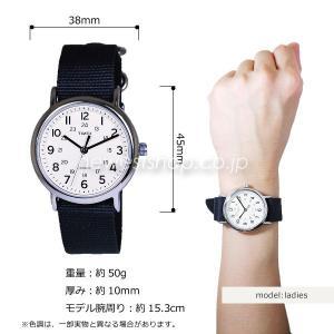 TIMEX タイメックス WEEKENDER ウィークエンダー フルサイズ T2P467 クリーム×グレー 腕時計|newest|02