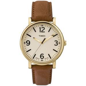 TIMEX タイメックス Classic Round クラシックラウンド T2P527 クリーム×タン 腕時計 メンズ 送料無料|newest