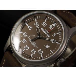 TIMEX タイメックス 腕時計 Expedition Metal Field エクスペディションミ T49874 ブラウン newest